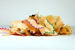 Colorful shavings Stock Photos