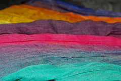 Colorful shawl Royalty Free Stock Images
