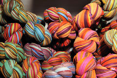 Colorful shawls Royalty Free Stock Photography