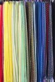 Colorful shawls Royalty Free Stock Photos