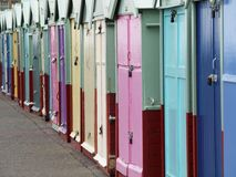Colorful sheds Royalty Free Stock Image