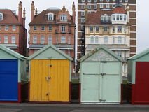 Colorful sheds in Brighton Royalty Free Stock Image
