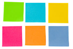 Colorful sheets of paper Stock Photo