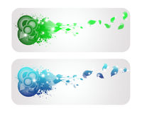 Colorful and shine  nature banner Stock Image
