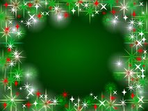 Colorful, shining christmas background royalty free stock images