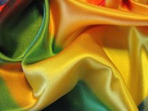 Colorful shining fabric texture Stock Image