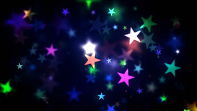 Colorful Shining Stars. Abstract Background colorful stars generating cool bokeh light effect. 8K Ultra HD Resolution at 300dpi vector illustration