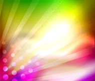 Colorful shiny abstract template Royalty Free Stock Photo