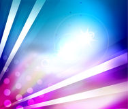 Colorful shiny abstract template Stock Images