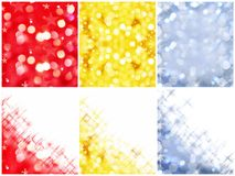 Colorful shiny backgrounds Royalty Free Stock Photos