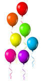Colorful shiny balloons Royalty Free Stock Photos