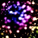 Colorful shiny bokhe Stock Photography