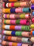 Colorful shiny bracelets Royalty Free Stock Image