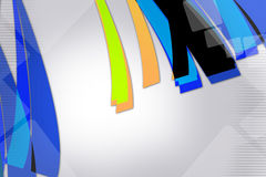 Colorful shiny line , abstract background Stock Photos