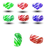 Colorful and shiny Rubin Vector Royalty Free Stock Photos