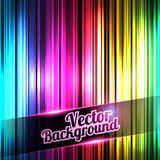 Colorful and shiny stripes background. With place for your text. Vector illustration of Colorful and shiny stripes background. With place for your text royalty free illustration