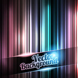 Colorful and shiny stripes background. With place for your text. Vector Illustration of Colorful and shiny stripes background. With place for your text stock illustration