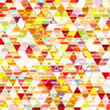 Colorful Shiny Triangular Background. Royalty Free Stock Photography
