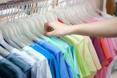 Colorful shirt Stock Photography