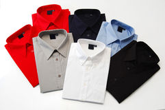 Colorful shirts Stock Images