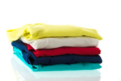 Colorful shirts Royalty Free Stock Photos