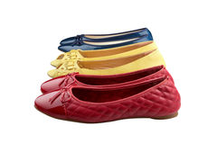 Colorful shoes Stock Photography