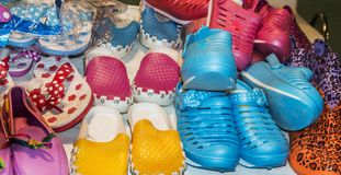 Colorful shoes Royalty Free Stock Images