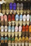 Colorful shoes in souk ,Dubai,United Arab Emirates Stock Image