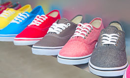 Colorful shoes Royalty Free Stock Image