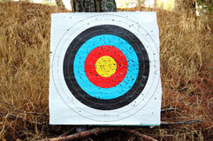 Colorful shooting target Stock Photography
