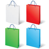 Colorful shopping bag Stock Photography