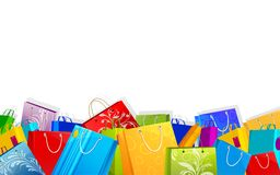 Colorful Shopping Bag Stock Images