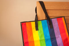 Colorful shopping bag Stock Photo