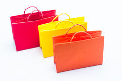 Colorful of shopping bag Royalty Free Stock Photography