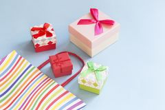 Presents royalty free stock photos
