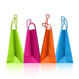 Colorful shopping bags Stock Photo