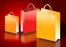 Colorful shopping bags. Shop till you drop concept Stock Photography