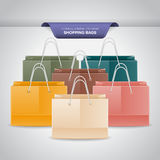 Colorful Shopping Bags Royalty Free Stock Images