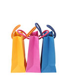 Colorful shopping bags Stock Images