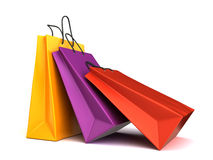 Colorful shopping bags Royalty Free Stock Photography