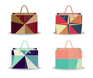 Colorful shopping bags Royalty Free Stock Photos