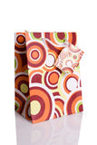 Colorful shopping paper bag Stock Image