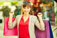 Colorful shopping Royalty Free Stock Image