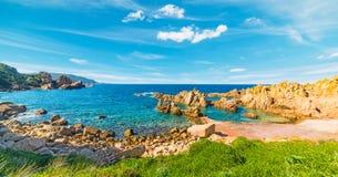 Colorful shore in Costa Paradiso. Sardinia Royalty Free Stock Photos