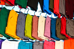 Colorful short pants Stock Image