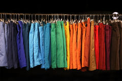 Colorful shorts Stock Images