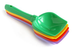 Colorful shovels Royalty Free Stock Photo