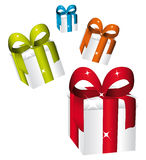 Colorful shower gifts. Stock Image