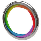 Colorful shutter frame Royalty Free Stock Photo