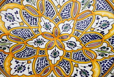Colorful sicilian pottery Royalty Free Stock Photos